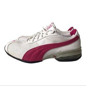 Puma Turin Sport White Pink Running Shoes